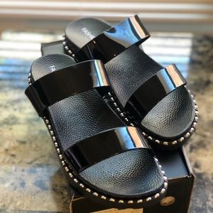 Fashion Nova Stud Sandals